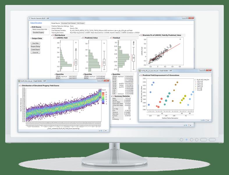 Giới thiệu phần mềm bản quyền JMP® Genomics