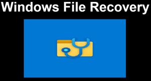 Windows File Recovery: Công cụ khôi phục dữ liệu chính chủ của Microsoft