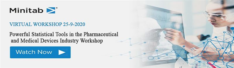 Hội thảo ảo - Powerful Statistical Tools in the Pharmaceutical and Medical Devices Industry Workshop