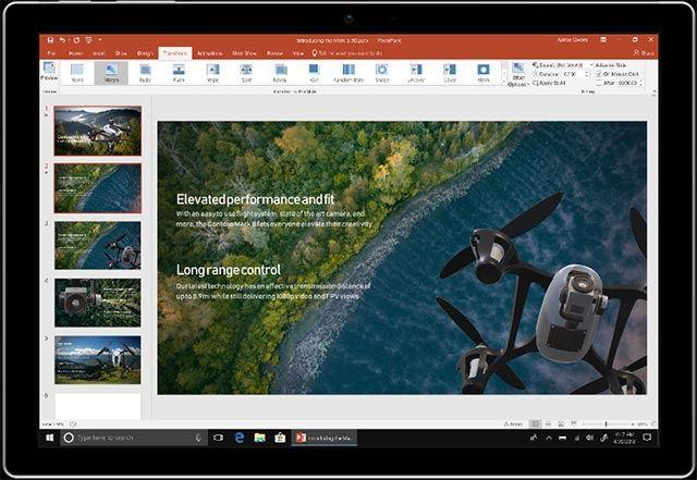 Tính năng mới trong Office Build