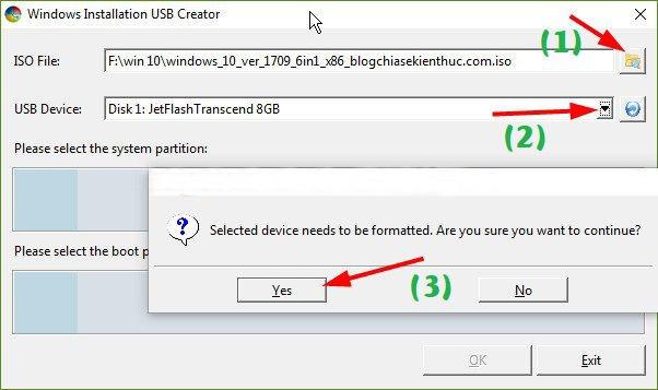 Hướng dẫn tạo USB CÀI WIN trên cả 2 chuẩn UEFI và LEGACY