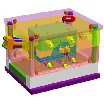 Những tính năng nổi bật khi thiết kế khuôn nhựa với NX Mold Wizard