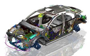 NX Siemens - Sự lựa chọn hoàn hảo cho thiết kế Ô tô