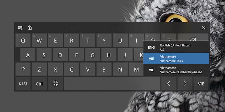 Đã có thể gõ tiếng Việt trên Windows 10 2019 mà không cần Unikey