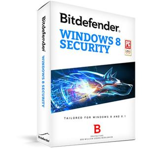 Bitdefender Windows 8 Security 3PC 1 năm