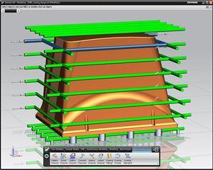 NX Mach 3 Progressive Die Design