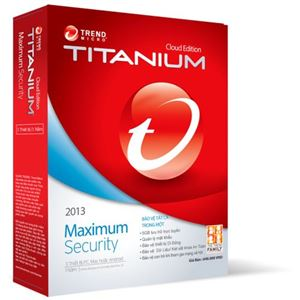 Trend Micro Titanium Maximum Security 2013 1PC/1Y