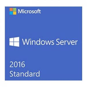 Windows Sever Standard 2016 ( 64bit English 1pk DSP OEI DVD 2CPU/2VM (P73 - 06165))