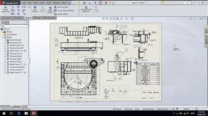 Xuất bản vẽ kỹ thuật trên Solidworks - Môi trường Drawing