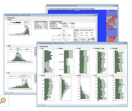 Trực quan hóa dữ liệu và Phân tích dữ liệu với JMP