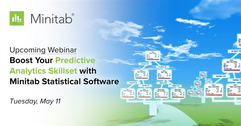 Webinar promotion - Predictive analytics webinar APAC on 11 May