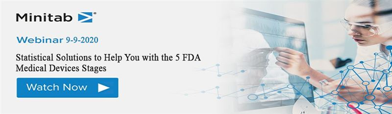 Hội thảo trực tuyến - Statistical Solutions to Help You with the 5 FDA Medical Devices Stages