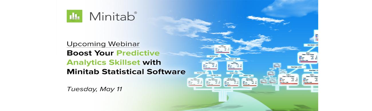 Webinar promotion - Predictive analytics webinar APAC on 11 May